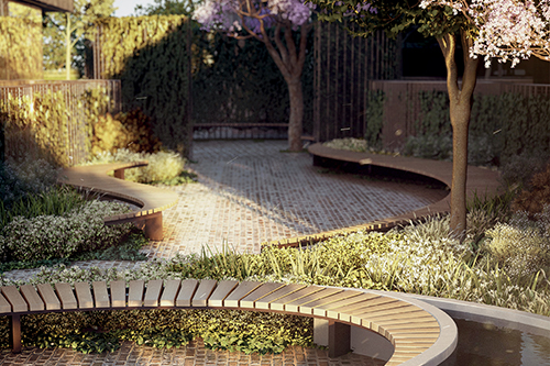Image 3 - West End Contemplation Garden